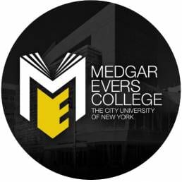 Medgar Evers College, The City University of New York Logo